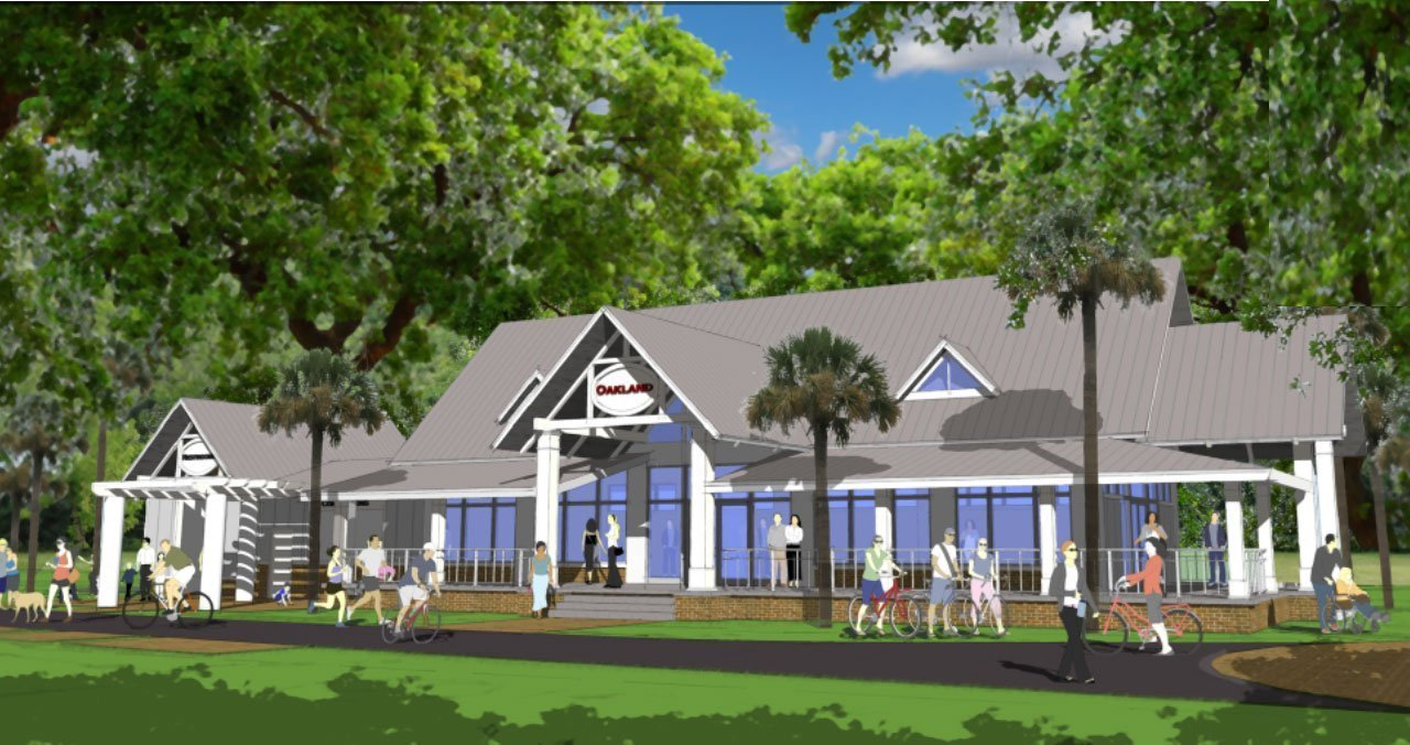 image of oakland center building