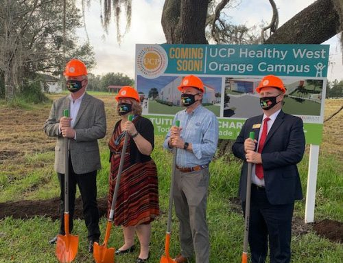 $1.5 Million Grant from West Orange Healthcare District Seeds Construction of UCP's All-New West Orange Campus